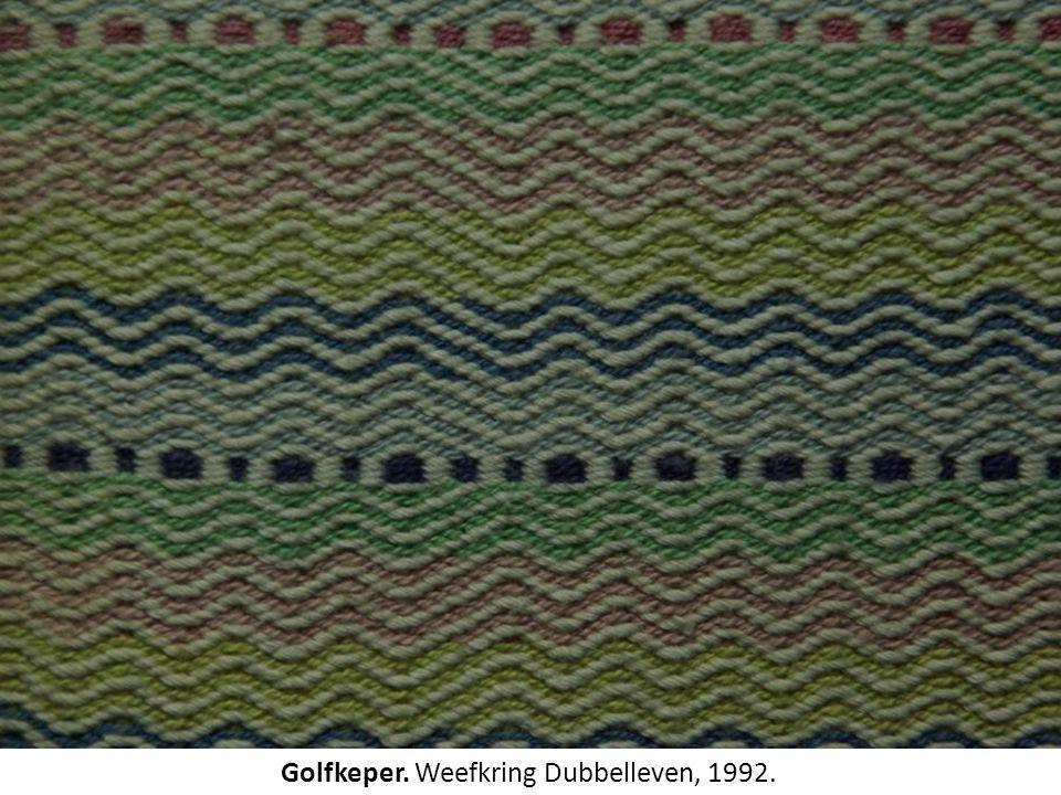 Golfkeper. Weefkring Dubbelleven, 1992.
