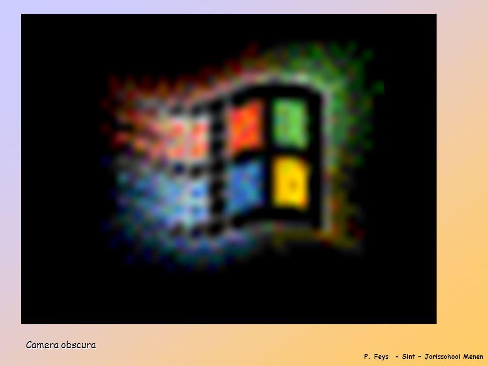 P. Feys - Sint – Jorisschool Menen Camera obscura