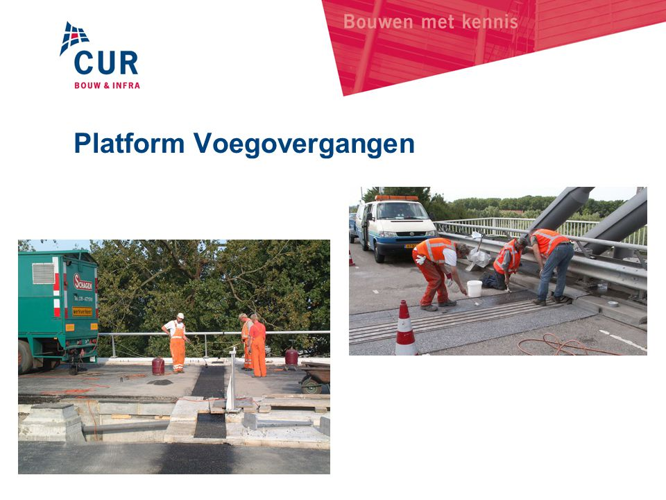 Platform Voegovergangen