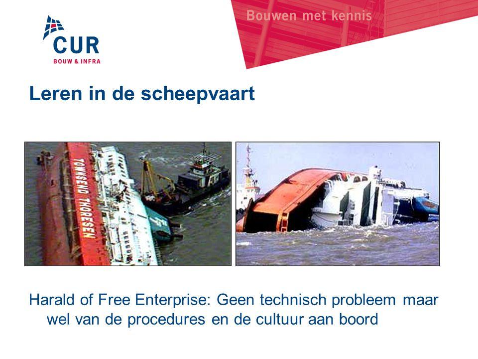 Leren in de scheepvaart Harald of Free Enterprise: Geen technisch probleem maar wel van de procedures en de cultuur aan boord