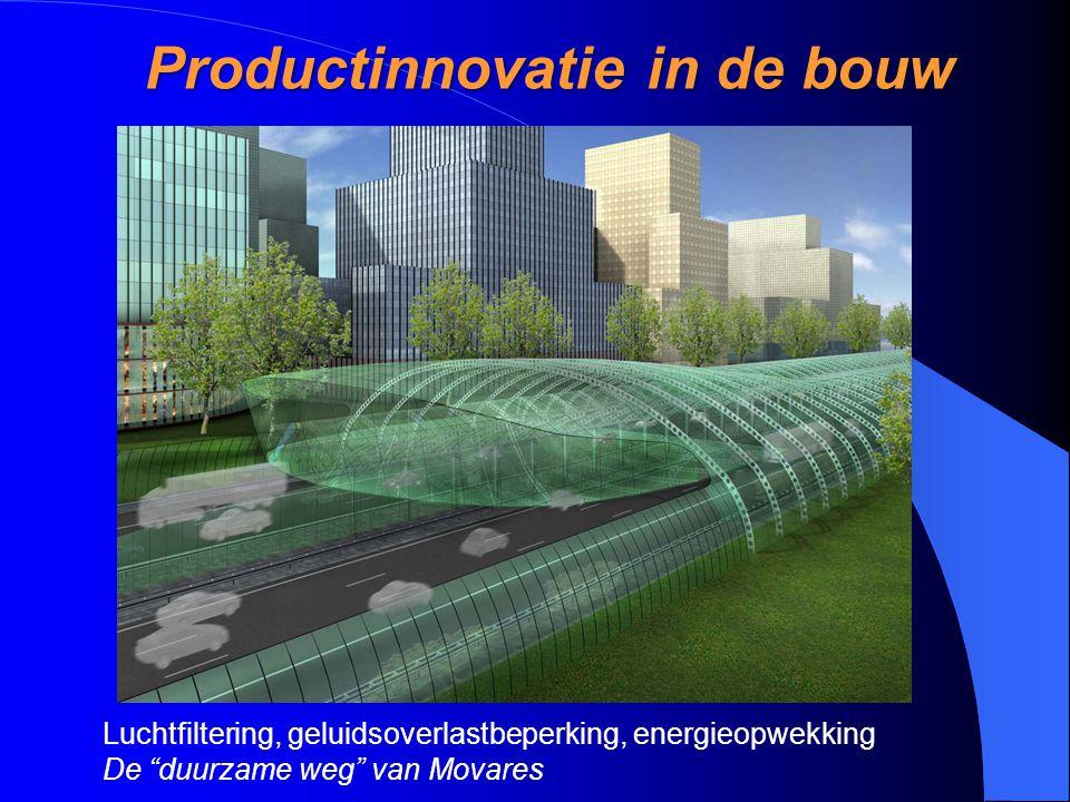 """Productinnovatie in de bouw Luchtfiltering, geluidsoverlastbeperking, energieopwekking De """"duurzame weg"""" van Movares"""