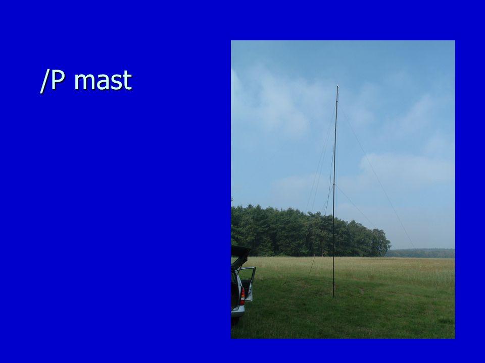 /P mast