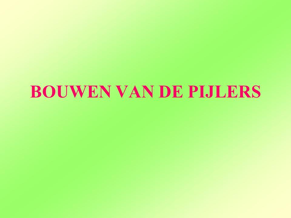 BOUWEN VAN DE PIJLERS