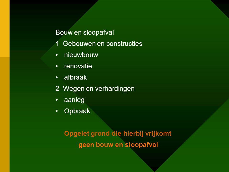 Groenafval groenafval in tuindraad