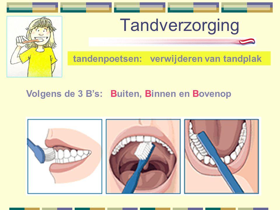 Tandverzorging Volgens de 3 B's: Buiten, Binnen en Bovenop tandenpoetsen: verwijderen van tandplak