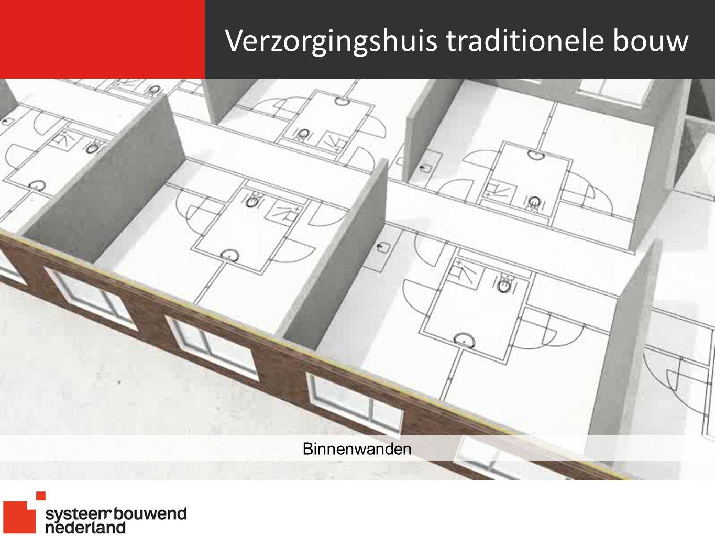 Verzorgingshuis traditionele bouw Binnenwanden