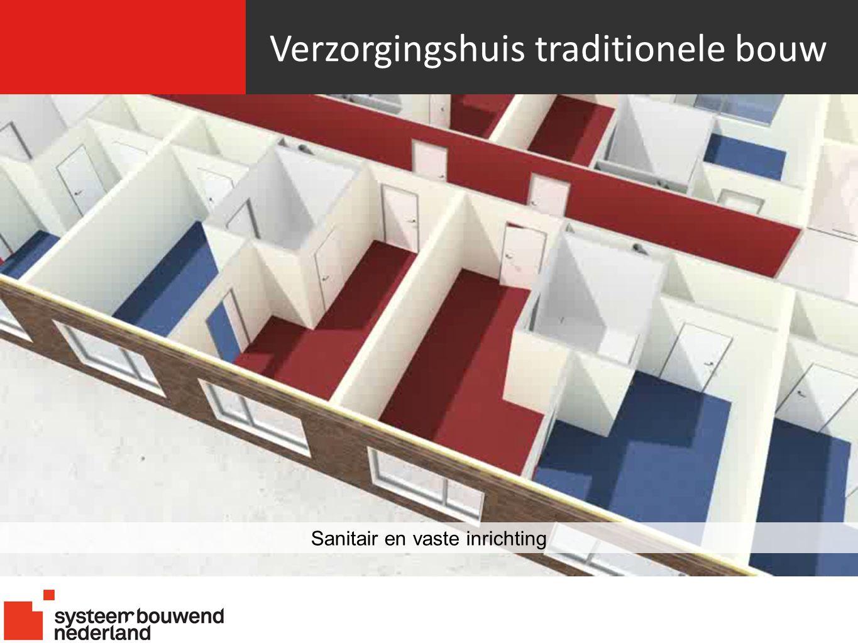 Verzorgingshuis traditionele bouw Sanitair en vaste inrichting