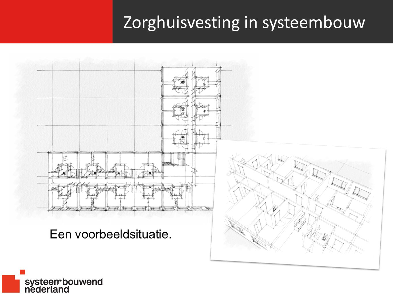 Zorghuisvesting in systeembouw Een voorbeeldsituatie.