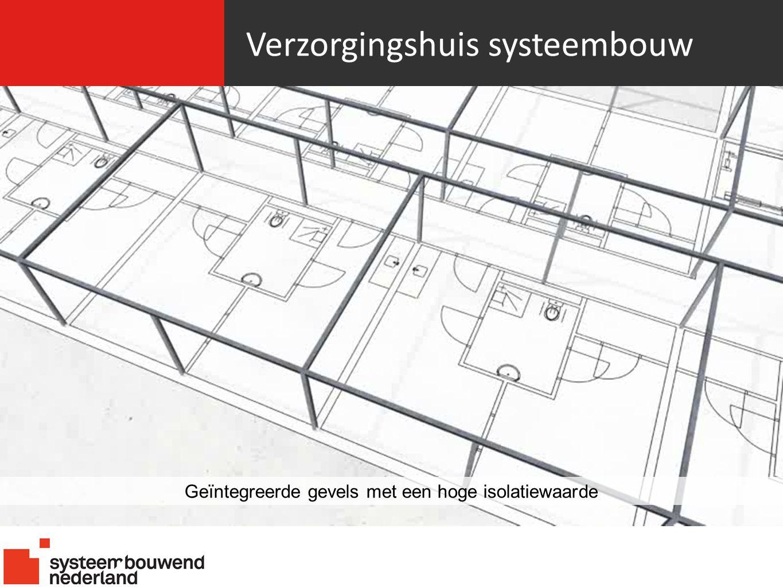 Verzorgingshuis systeembouw Geïntegreerde gevels met een hoge isolatiewaarde