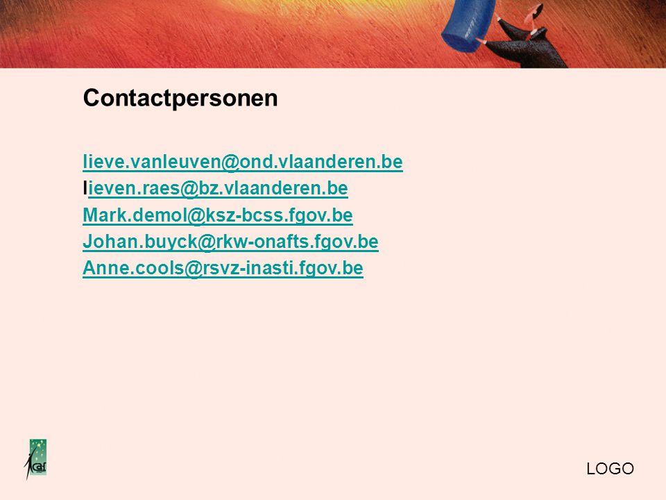 Contactpersonen lieve.vanleuven@ond.vlaanderen.be lieven.raes@bz.vlaanderen.beieven.raes@bz.vlaanderen.be Mark.demol@ksz-bcss.fgov.be Johan.buyck@rkw-