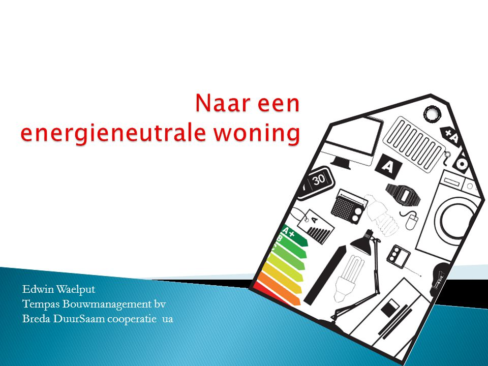 Edwin Waelput Tempas Bouwmanagement bv Breda DuurSaam cooperatie ua