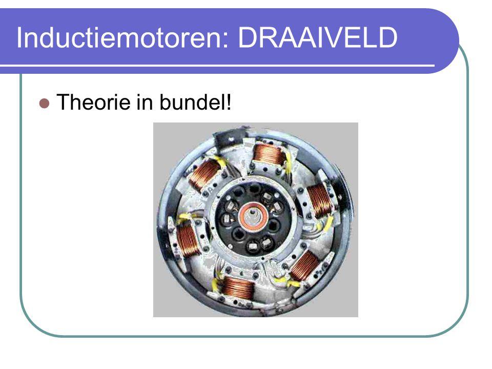 Inductiemotoren: DRAAIVELD  Theorie in bundel!