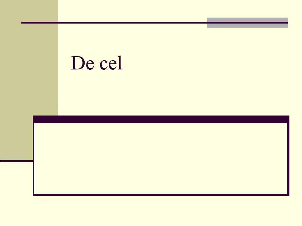  Alle organismen bestaan uit cellen  http://www.bioplek.org/animaties/celtotaal/cel start.html http://www.bioplek.org/animaties/celtotaal/cel start.html  Kern bevat de chromosomen (bepaalt de eigenschappen van de cel en het gehele organisme.
