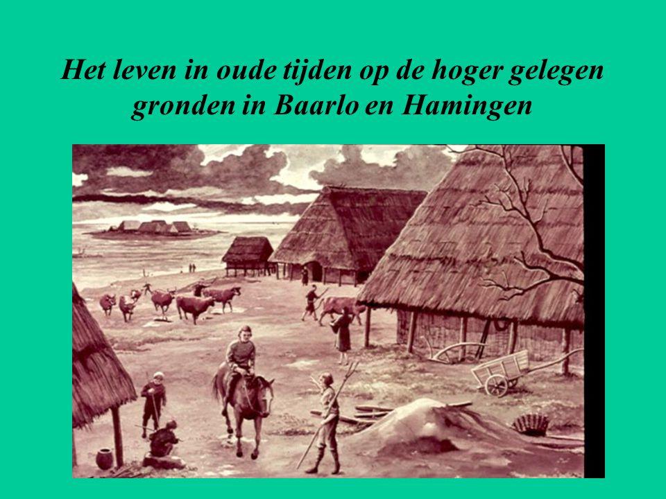 Het leven in oude tijden op de hoger gelegen gronden in Baarlo en Hamingen