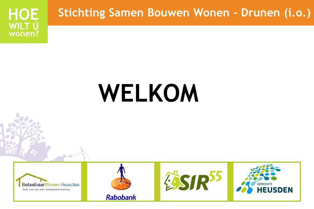 Stichting Samen Bouwen Wonen – Drunen (i.o.) WELKOM