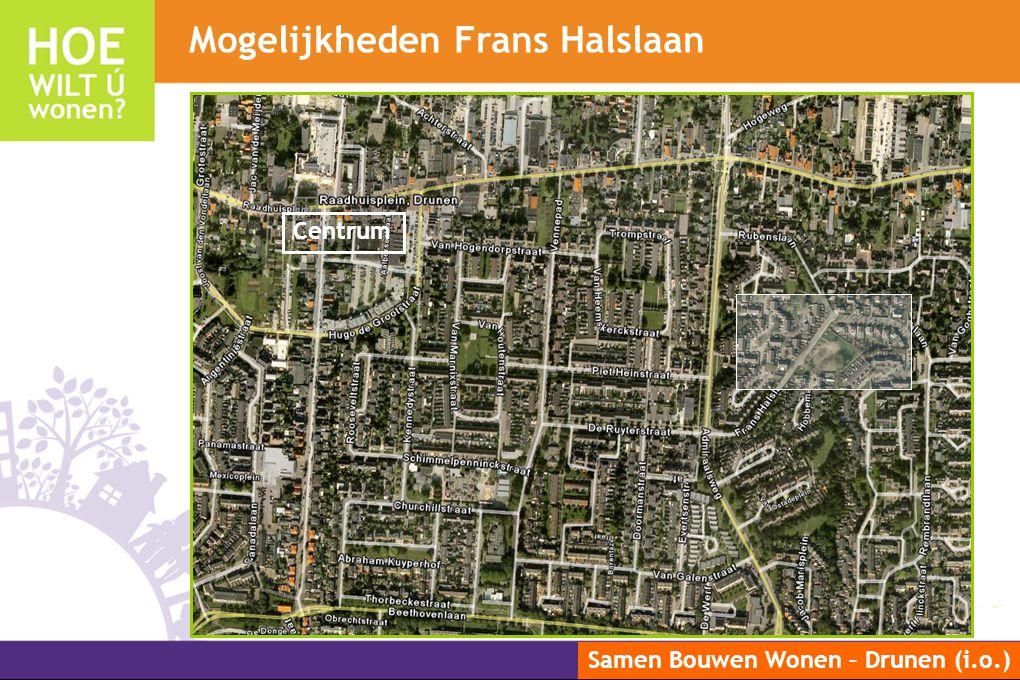 Samen Bouwen Wonen – Drunen (i.o.) Mogelijkheden Frans Halslaan Centrum