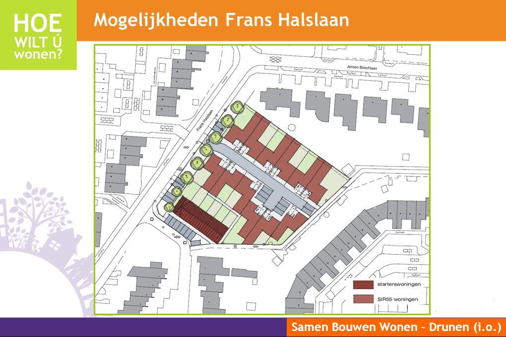 Samen Bouwen Wonen – Drunen (i.o.) Mogelijkheden Frans Halslaan