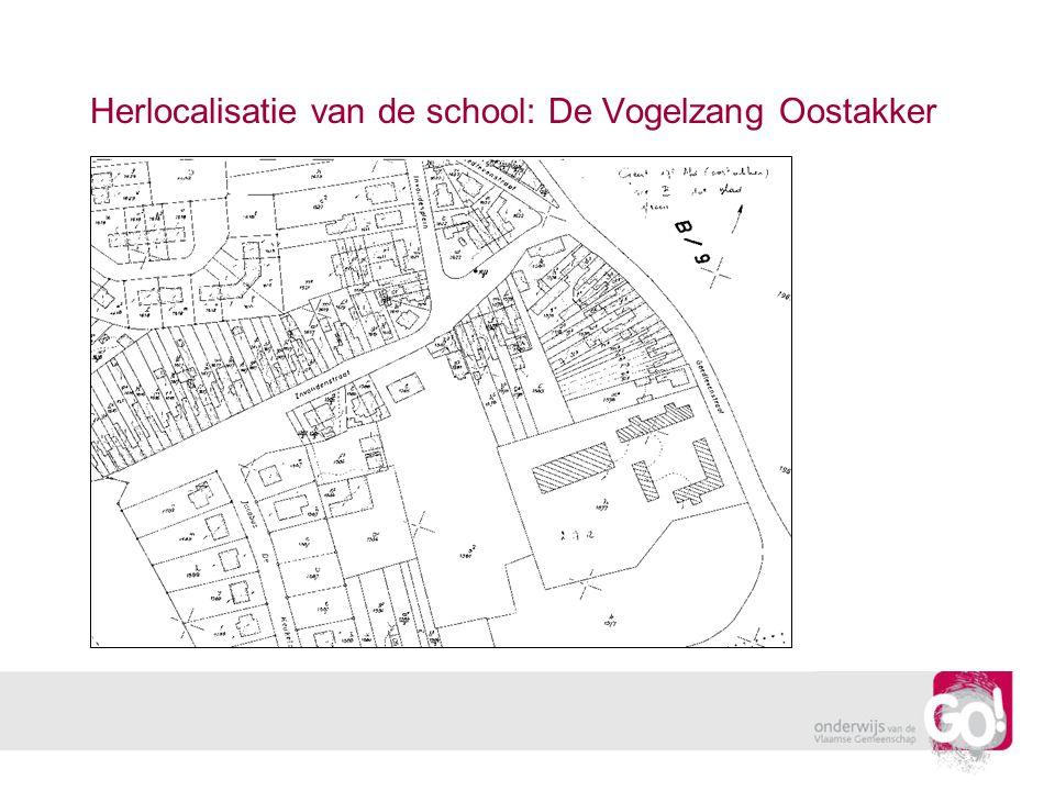 Herlocalisatie van de school: De Vogelzang Oostakker
