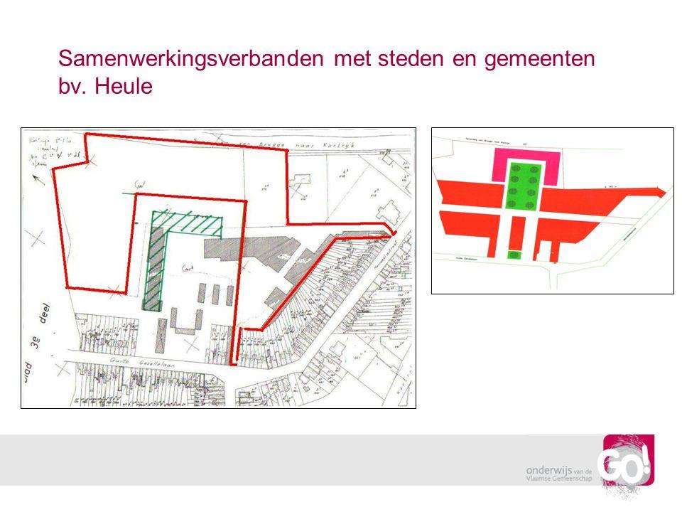 Samenwerkingsverbanden met steden en gemeenten bv. Heule