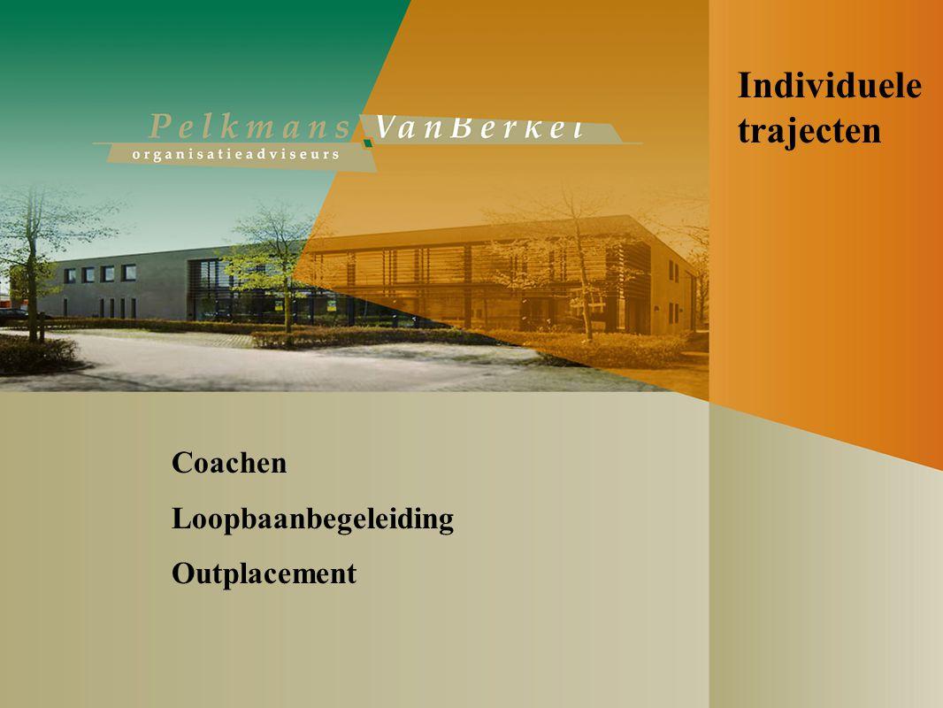 Individuele trajecten Coachen Loopbaanbegeleiding Outplacement