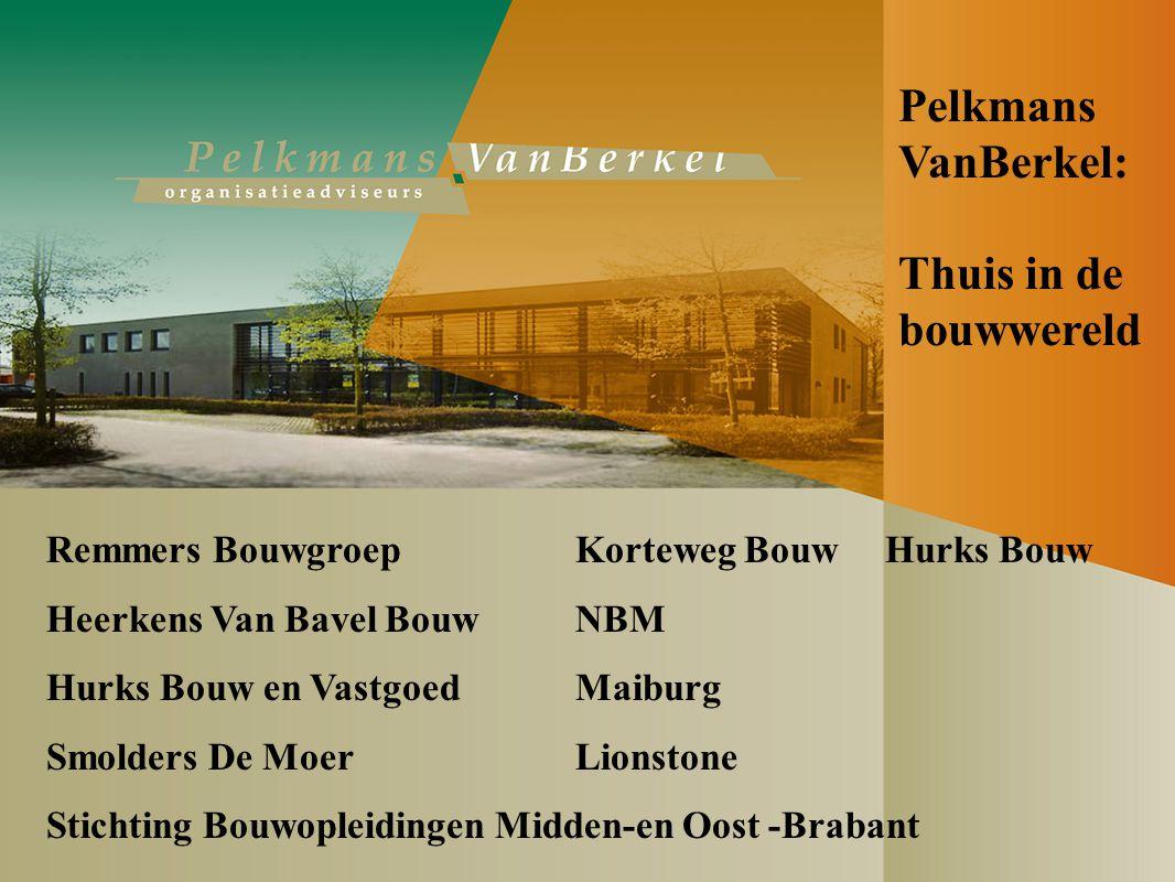 Thuis in de bouwwereld Remmers BouwgroepKorteweg Bouw Hurks Bouw Heerkens Van Bavel BouwNBM Hurks Bouw en VastgoedMaiburg Smolders De MoerLionstone Stichting Bouwopleidingen Midden-en Oost -Brabant Pelkmans VanBerkel: