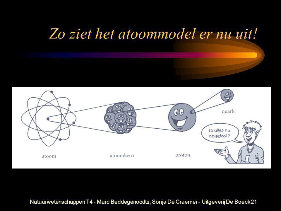 Natuurwetenschappen T4 - Marc Beddegenoodts, Sonja De Craemer - Uitgeverij De Boeck21 Zo ziet het atoommodel er nu uit!