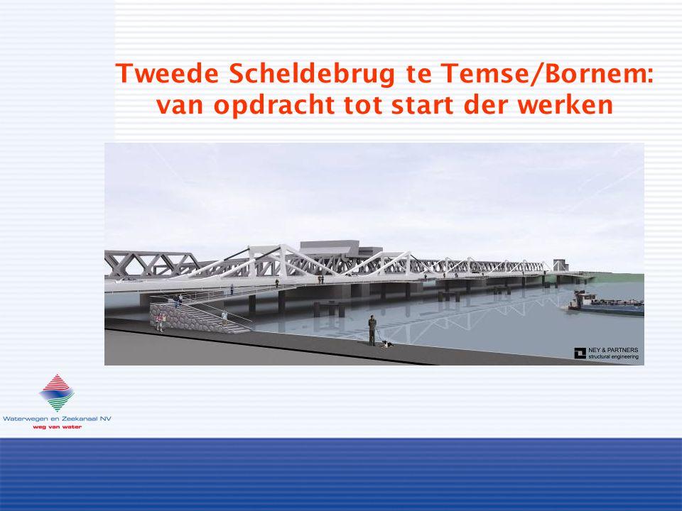 Tweede Scheldebrug te Temse/Bornem: van opdracht tot start der werken