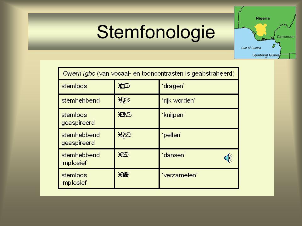 Stemfonologie