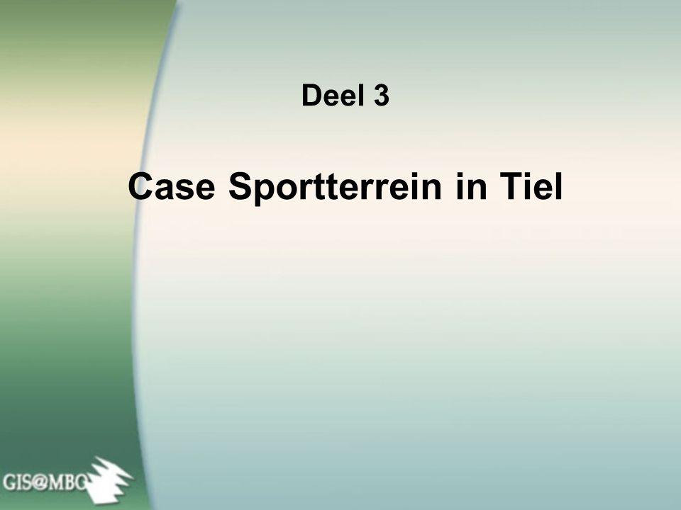 Deel 3 Case Sportterrein in Tiel