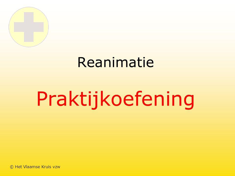 Reanimatie Praktijkoefening © Het Vlaamse Kruis vzw