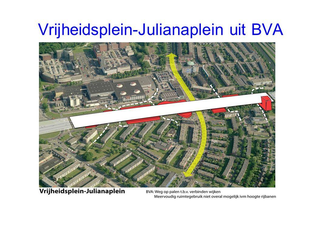 Vrijheidsplein-Julianaplein uit BVA