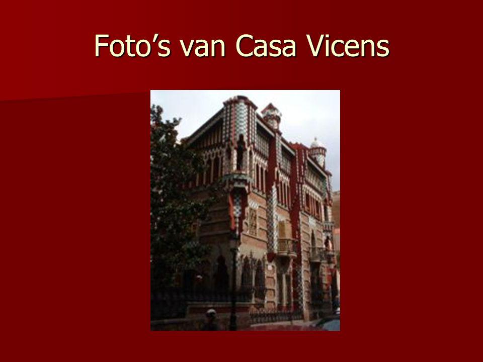 Foto's van Casa Vicens