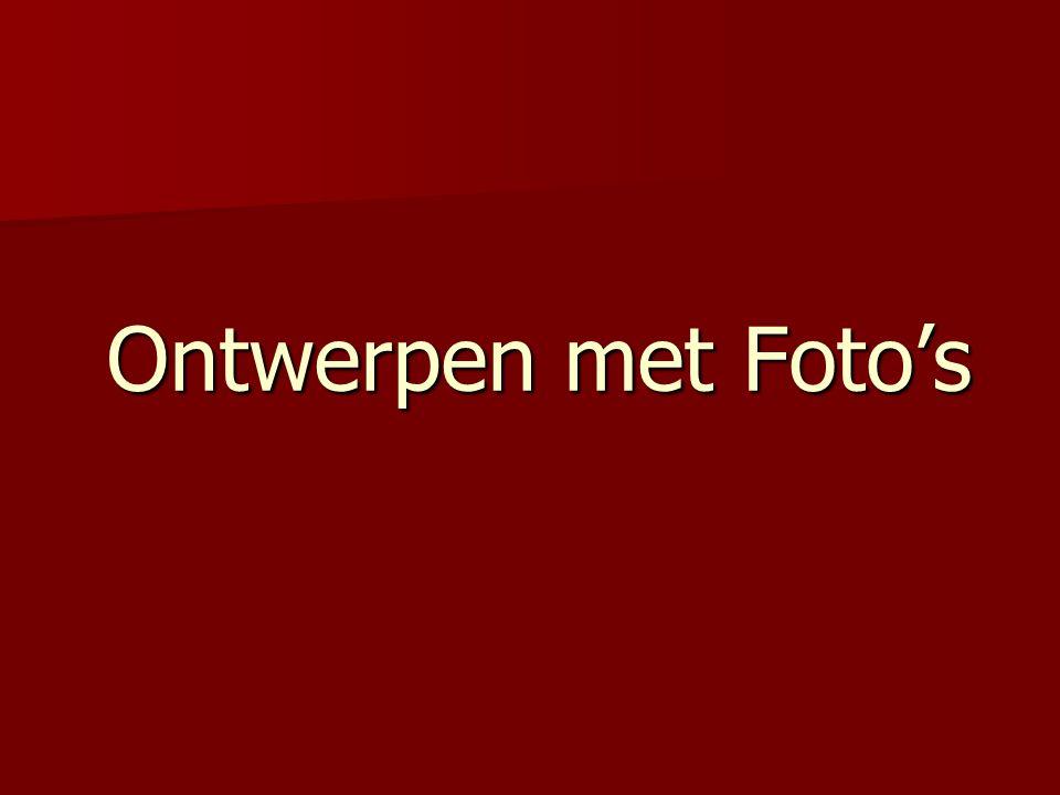 Ontwerpen met Foto's