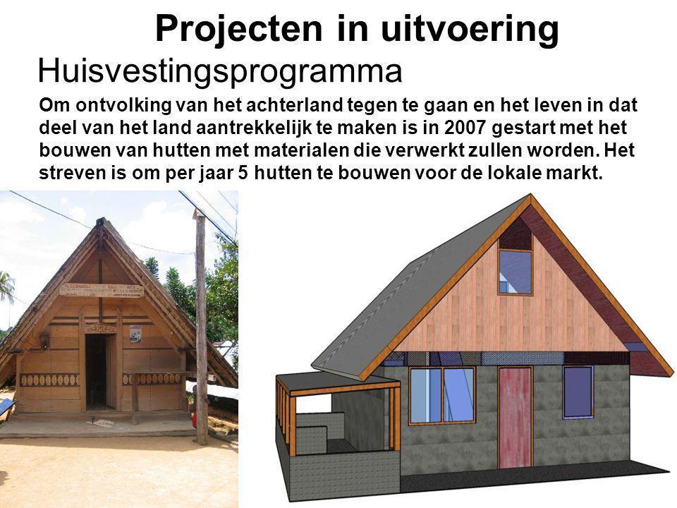 1-7-2014Stichting Teeifuka Projecten in uitvoering Om ontvolking van het achterland tegen te gaan en het leven in dat deel van het land aantrekkelijk