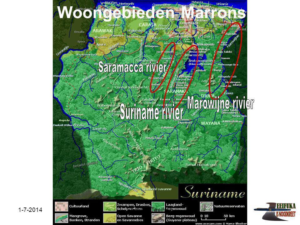 1-7-2014Stichting Teeifuka Samenwerking Dorpsbestuur Nieuw Aurora Gaama Belfon