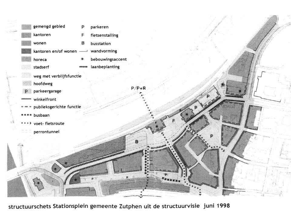 Opbouw 94-99 •Gemeente -visie stationsomgeving.