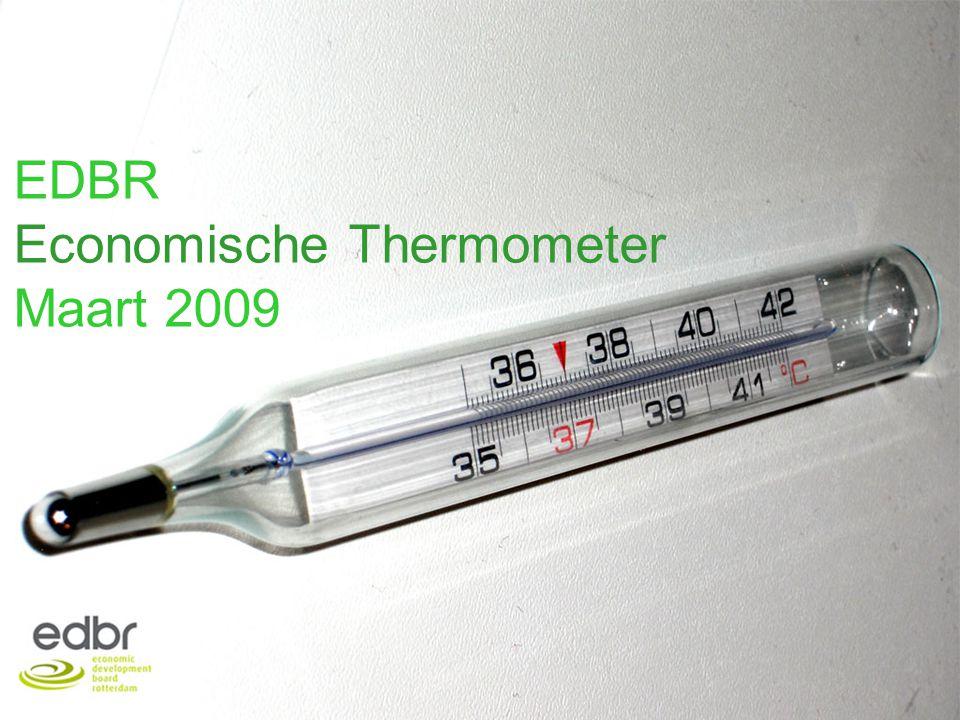 Economische Thermometer Maart 20091 EDBR Economische Thermometer Maart 2009