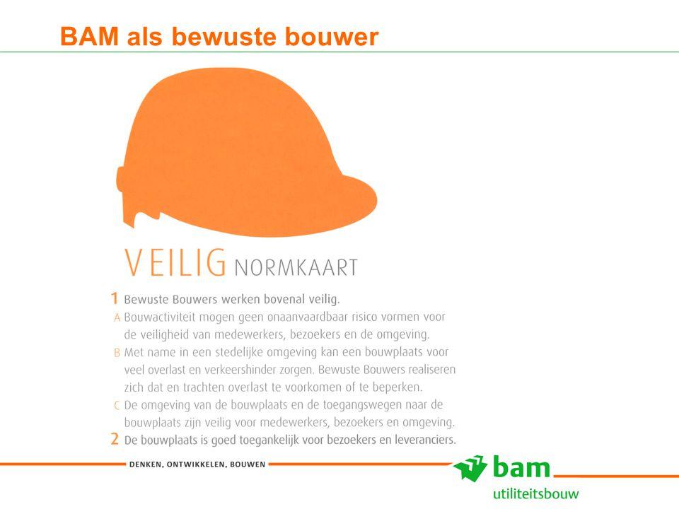 27-01-2011 Koninklijke BAM Groep nv - - 6 BAM als bewuste bouwer