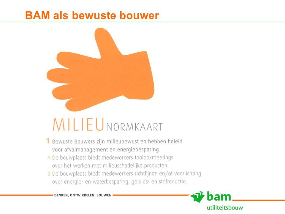 27-01-2011 Koninklijke BAM Groep nv - - 7 BAM als bewuste bouwer