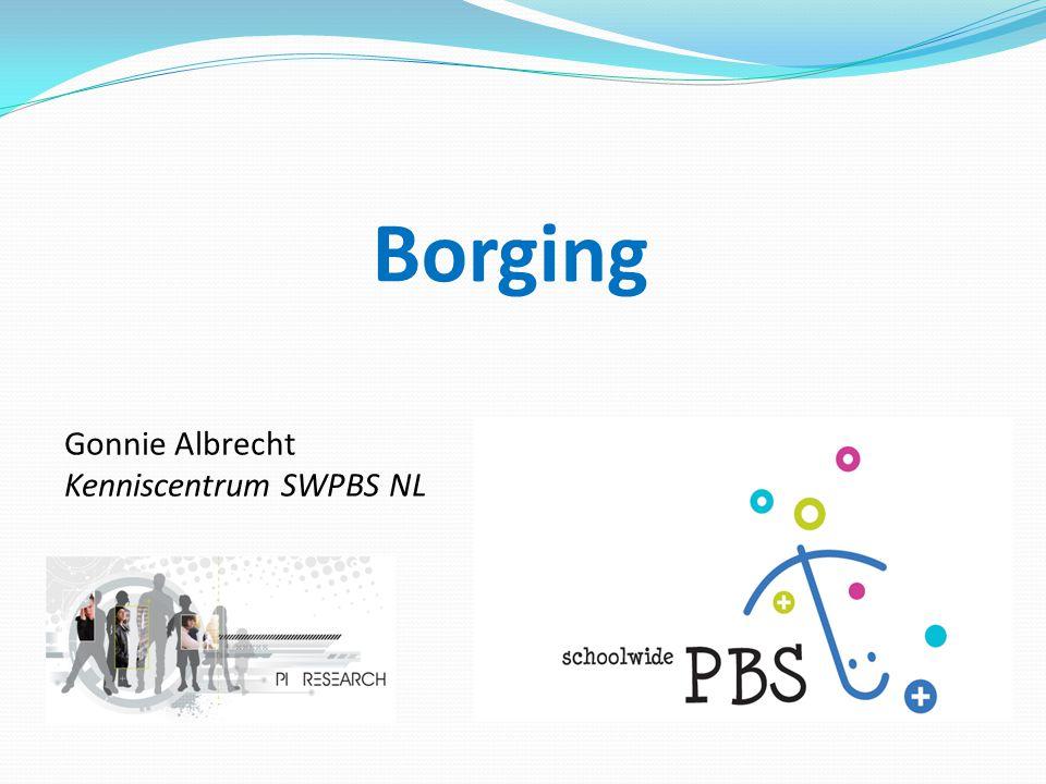 Borging Gonnie Albrecht Kenniscentrum SWPBS NL