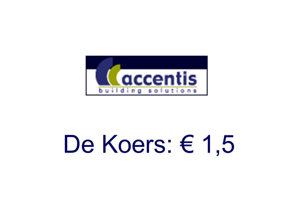 De Koers: € 1,5