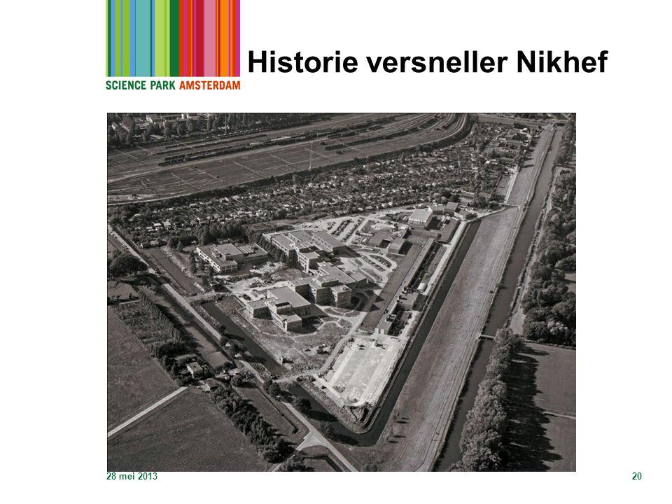 Historie versneller Nikhef 28 mei 201320
