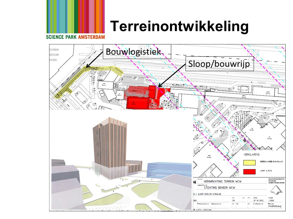 Terreinontwikkeling Sloop/bouwrijp Bouwlogistiek