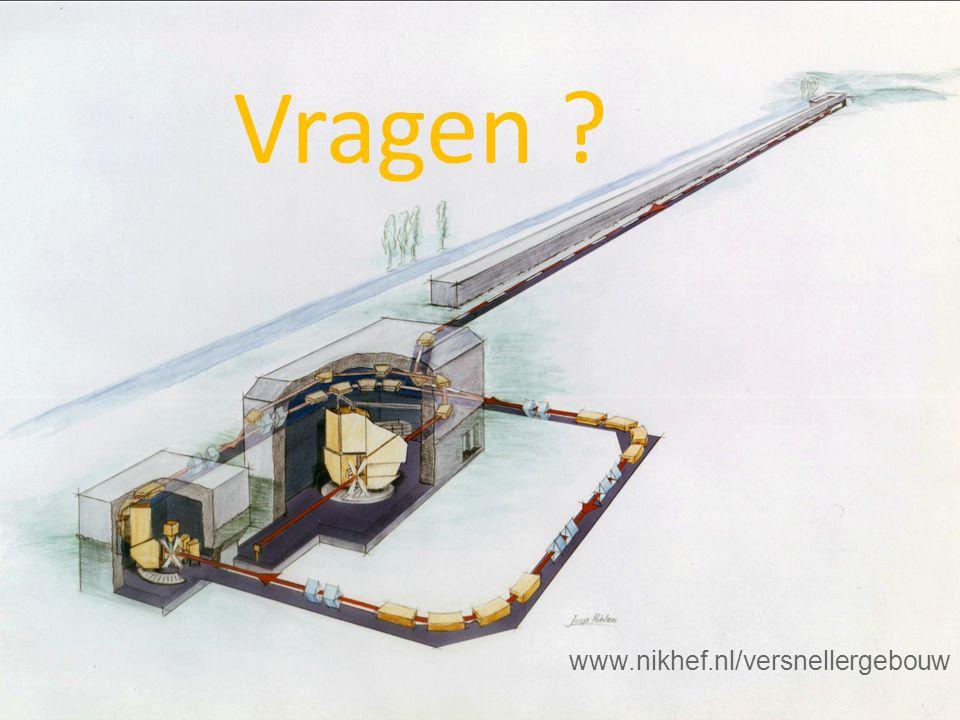 Vragen ? www.nikhef.nl/versnellergebouw