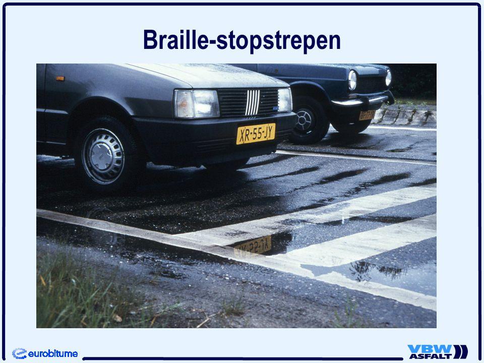 Braille-stopstrepen
