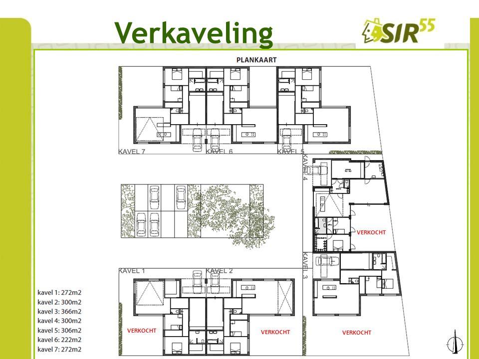 www.sir-55.nl Fasering Fase 1 De eerste fase bestaat uit 4 woningen (kavels 1 t/m 4), welke reeds zijn verkocht.