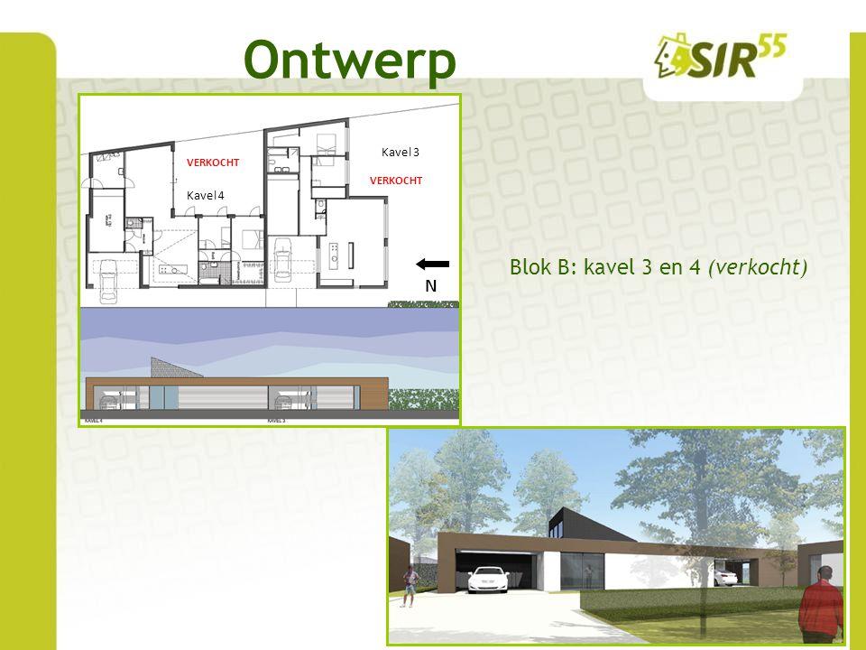 Ontwerp www.sir-55.nl Kavel 5Kavel 7Kavel 6 N Blok C: kavels 5, 6 en 7 Kavel 5: ca.