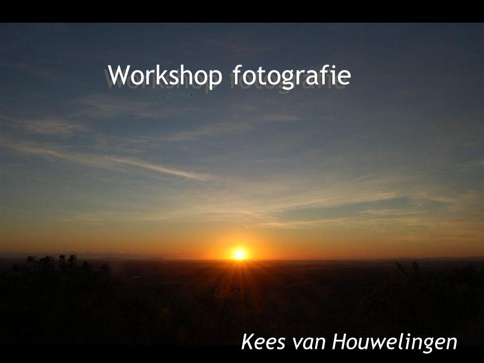 Workshop fotografie Kees van Houwelingen