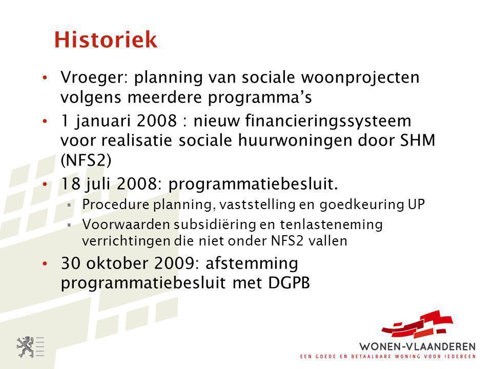 Subsidie voor aanleg of aanpassing infrastructuur (2) • Als initiatiefnemer kiest zelf opdrachtgever te zijn: forfaitaire subsidie; indien AGI of andere overheid opdrachtgever: kosten geheel of gedeeltelijk ten laste Vlaamse Gewest.