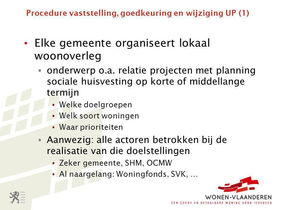 Procedure voor de uitvoering van verrichtingen (9) • Binnen één maand na voltooiing werken bezorgt initiatiefnemer VMSW definitief voorstel van prijsberekening.